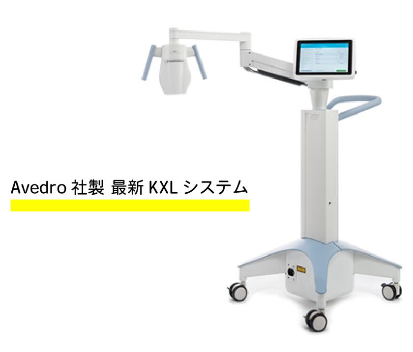Avedro 社製 最新KXL システム